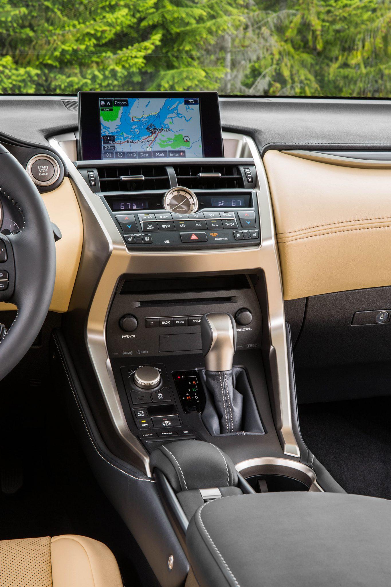 2015-Lexus-NX-200t-F-SPORT-luxury-centre-console - ForceGT.com