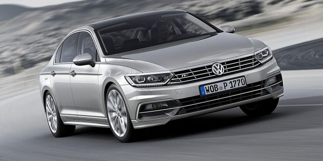 206kW, AWD Volkswagen Passat R-Line coming in November