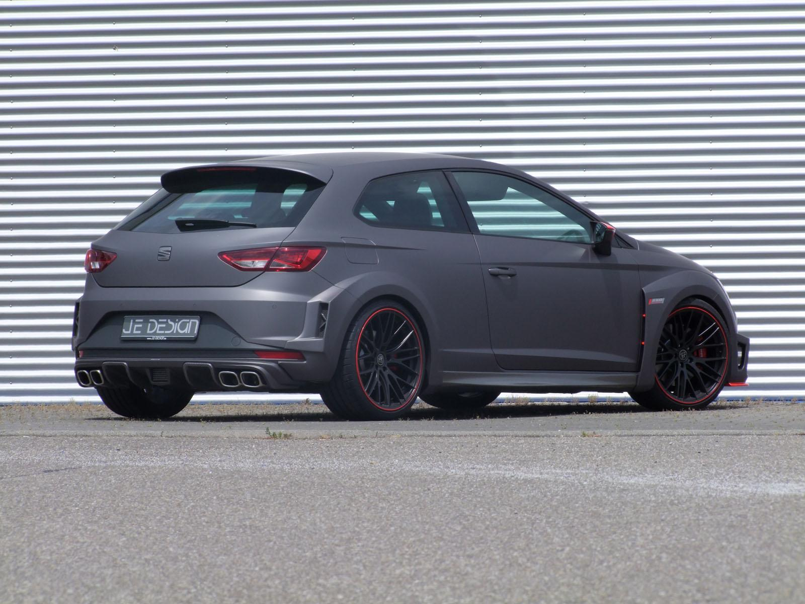 seat tuning je design tuned 258kw widebody seat leon cupra. Black Bedroom Furniture Sets. Home Design Ideas