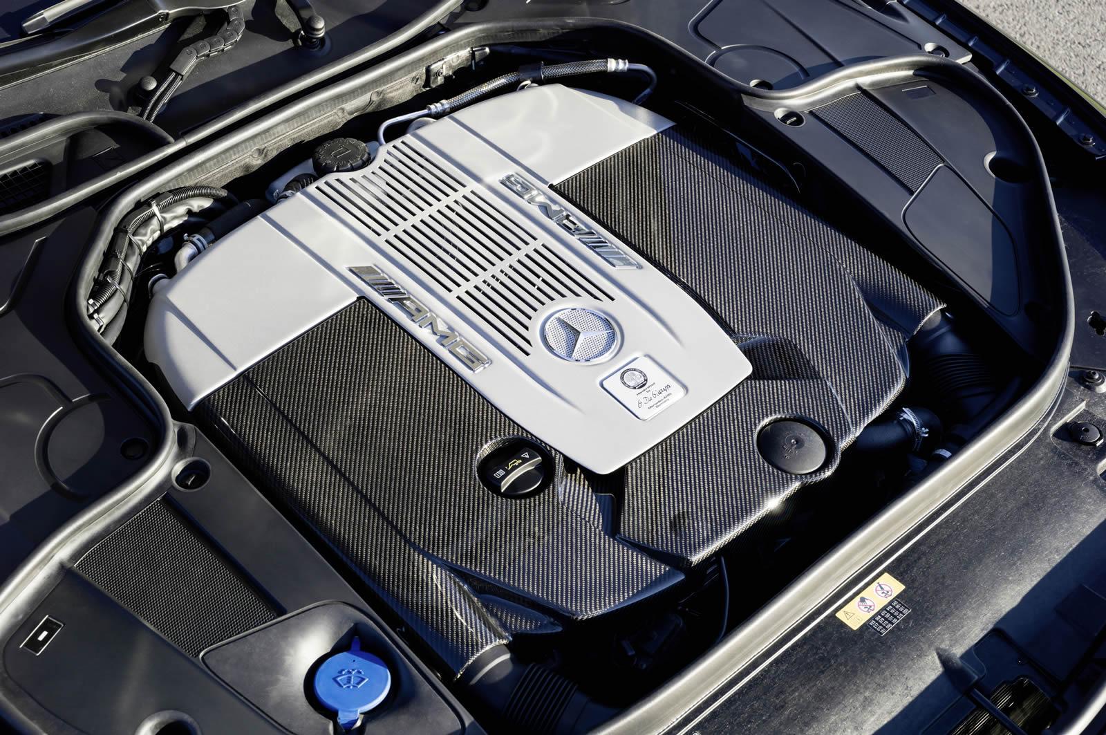 Mercedes benz s65 amg coupe v12 engine for Mercedes benz v12 engine