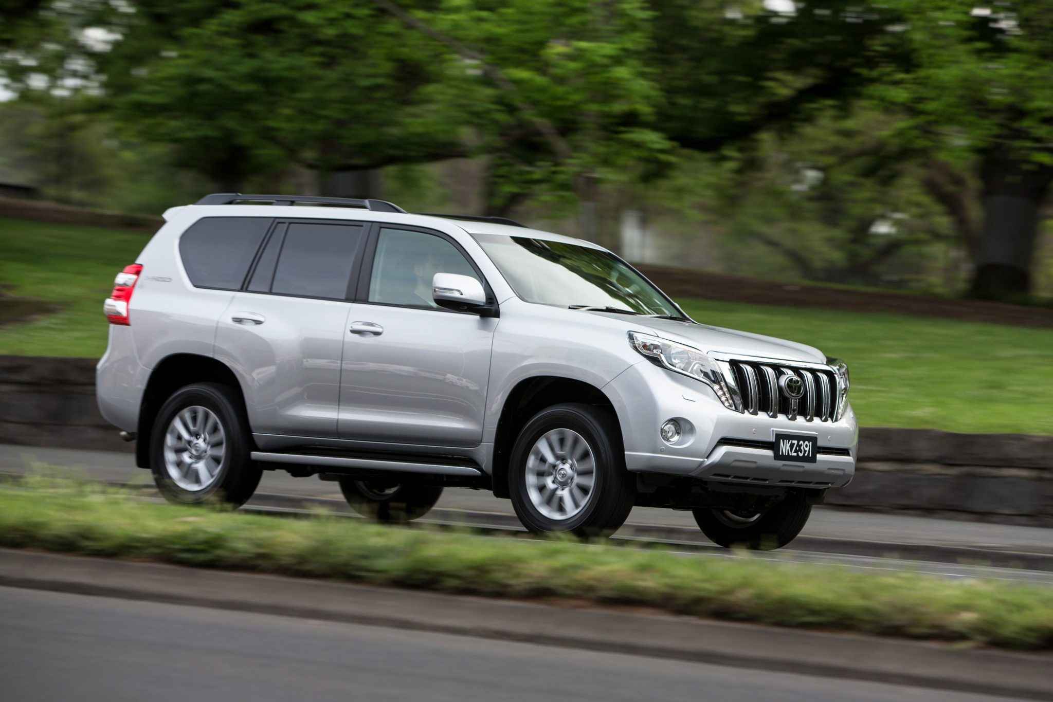 Toyota Cars News Landcruiser Prado Gains Improved