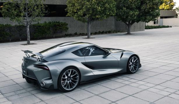 Toyota FT-1 concept MkII rear quarter