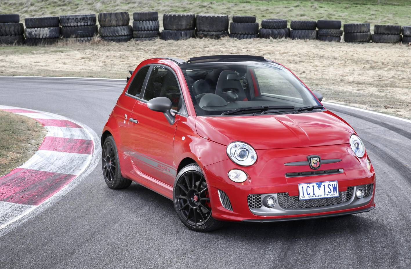 the motoring world abarth announces equipment and power upgrades for the 595 competizione. Black Bedroom Furniture Sets. Home Design Ideas