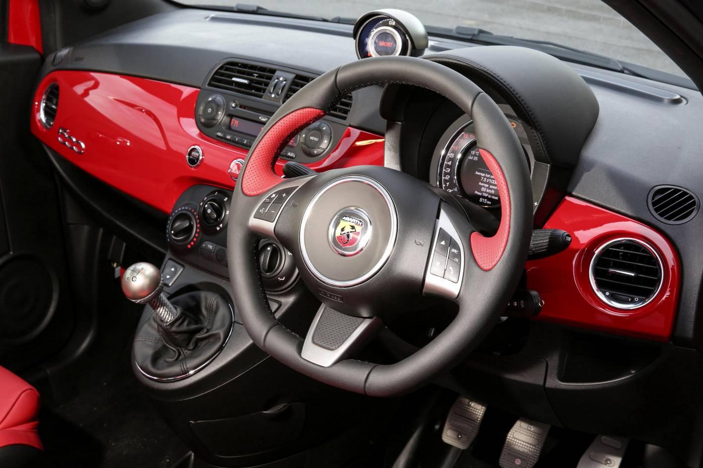 Abarth 595 range extends to turismo and competizione models - Turismo interior ...