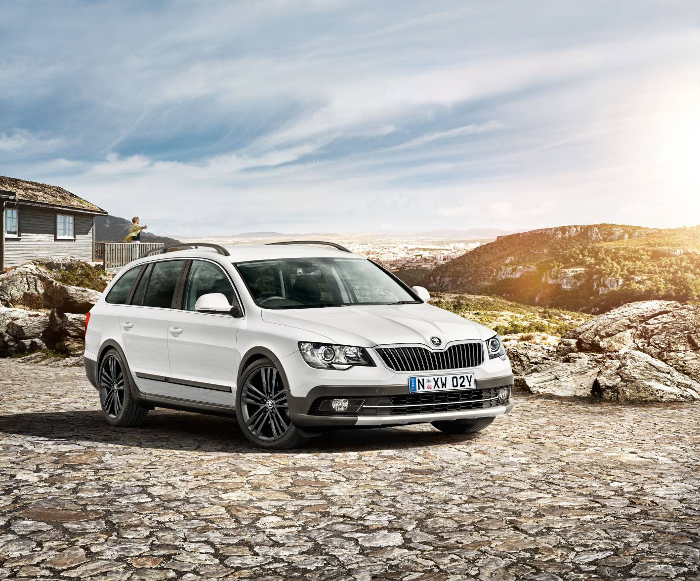 skoda cars news superb 4x4 outdoor special edition launched. Black Bedroom Furniture Sets. Home Design Ideas