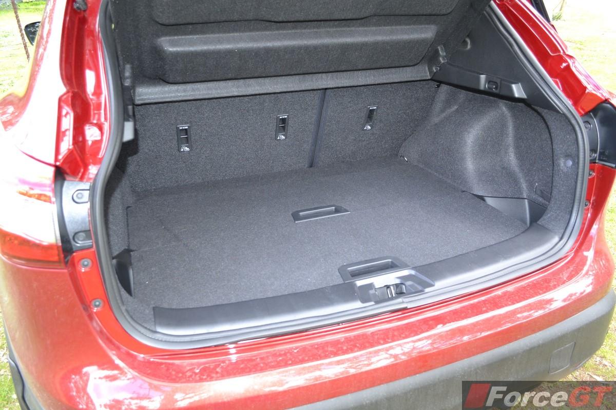Nissan Qashqai Luggage Capacity