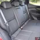 2014 Nissan Qashqai rear seats