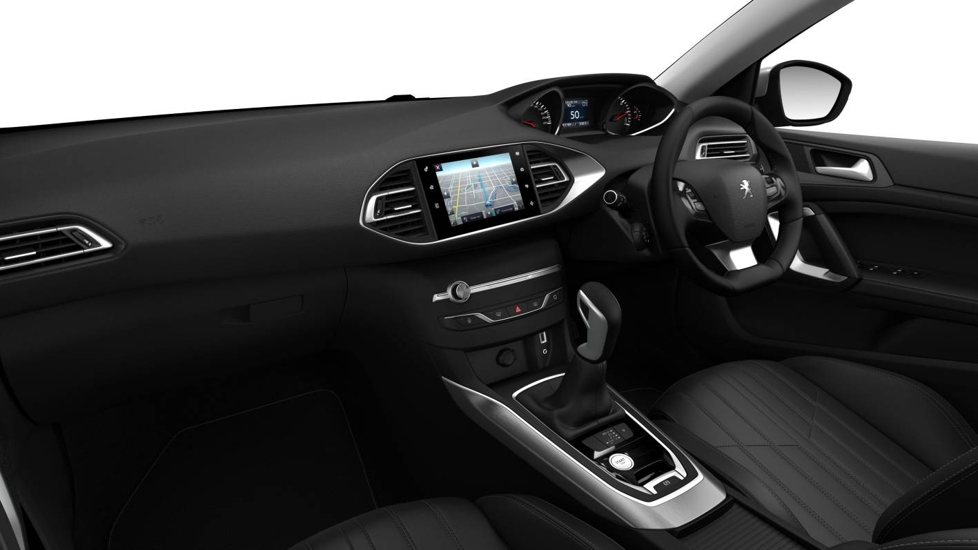 2014 peugeot 308 allure premium interior. Black Bedroom Furniture Sets. Home Design Ideas