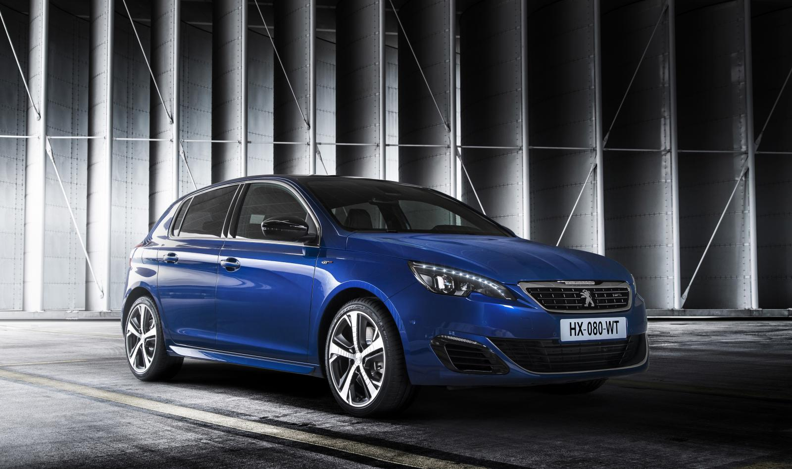 peugeot 308 gt unveiled ahead of paris debut. Black Bedroom Furniture Sets. Home Design Ideas