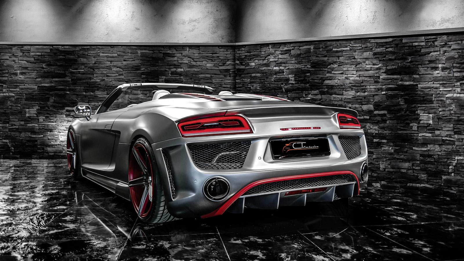 audi tuning ct exclusive unveils stunning r8 styling kit. Black Bedroom Furniture Sets. Home Design Ideas