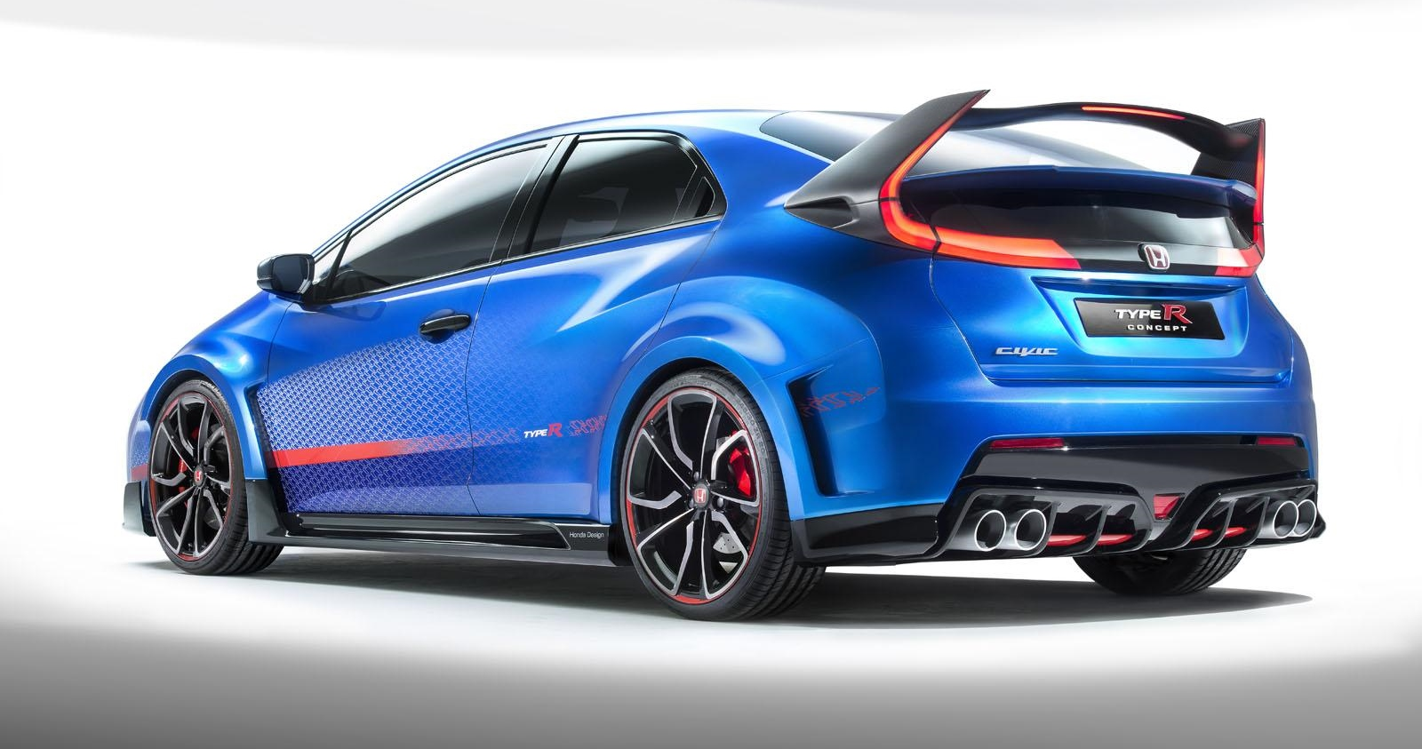 honda cars news civic type r concept unveiled packs. Black Bedroom Furniture Sets. Home Design Ideas