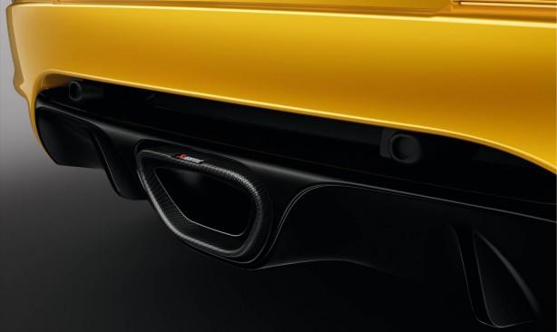 Renault Mégane R.S. 275 Trophy Akrapovic exhaust