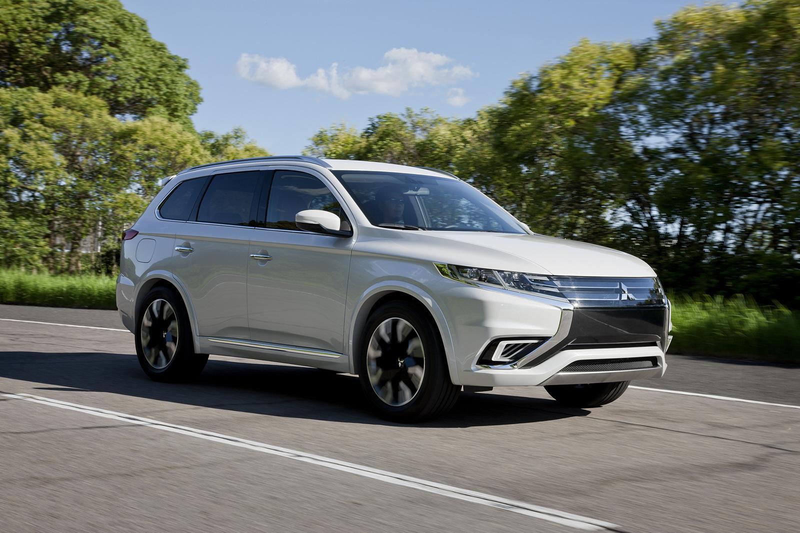 Mitsubishi Outlander Phev Concept S Unveiled Ahead Of Paris Debut Forcegt Com