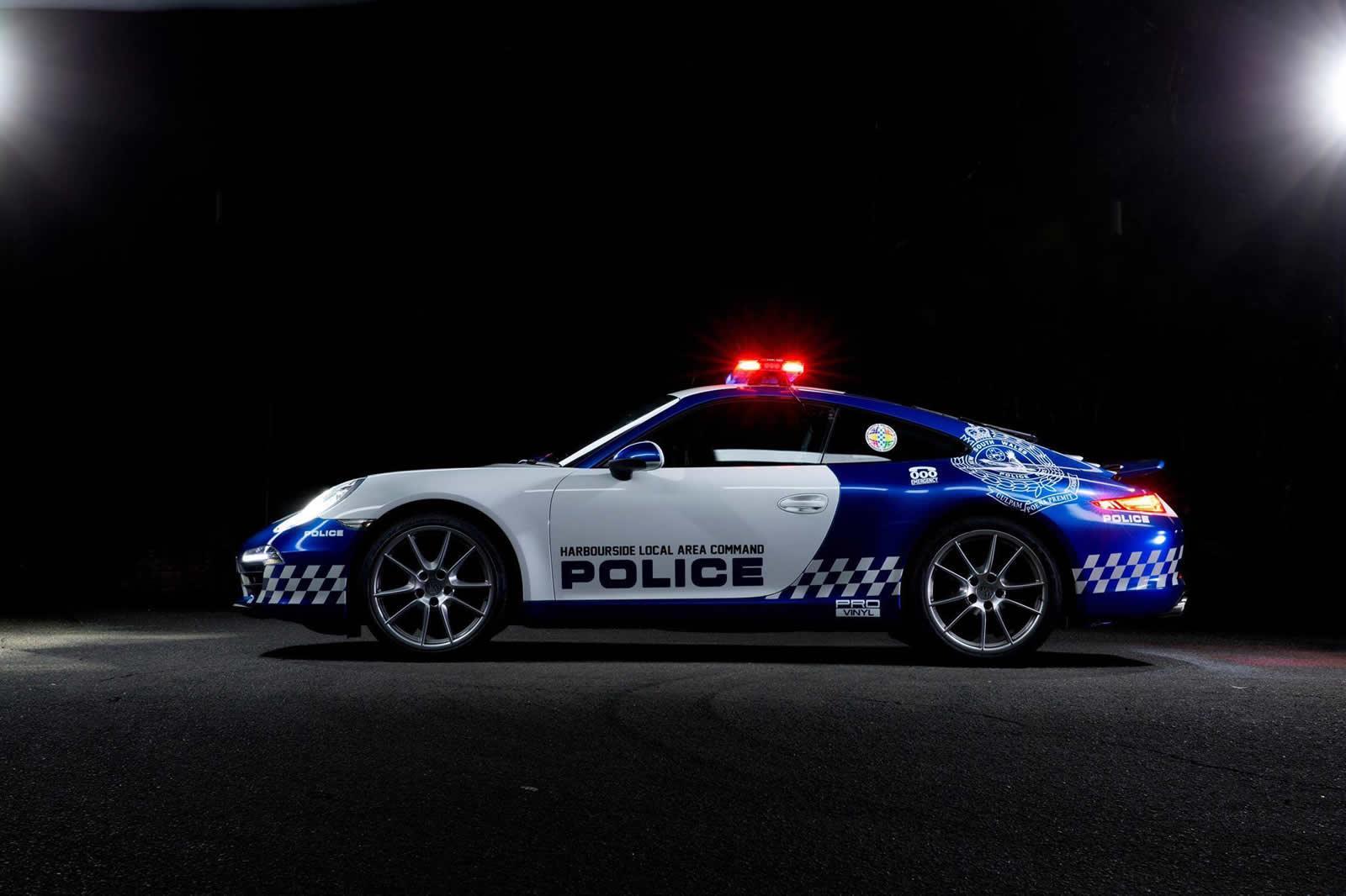 Nsw Police Gets Porsche 911 Carrera Police Car Forcegt Com