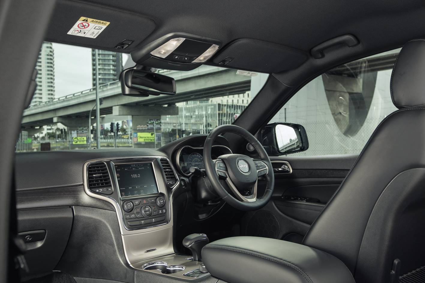 Jeep Blackhawk Edition 2015 Grand Cherokee Interior