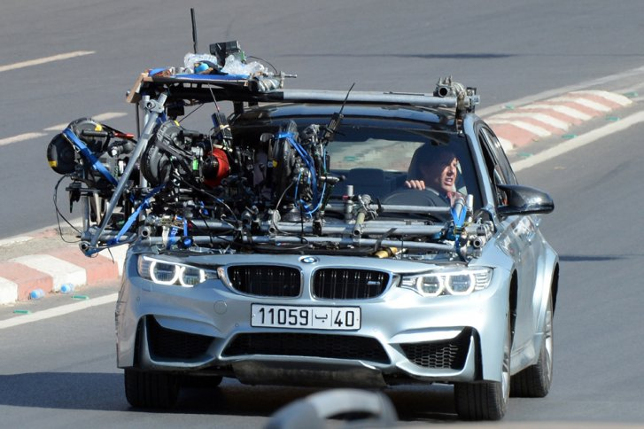 Truck Load Of Bmw M3 Sedans Wrecked In Mission Impossible