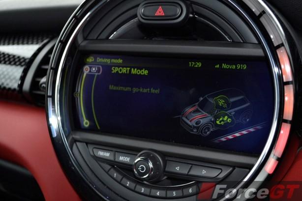 2014 MINI Cooper S Sport Mode