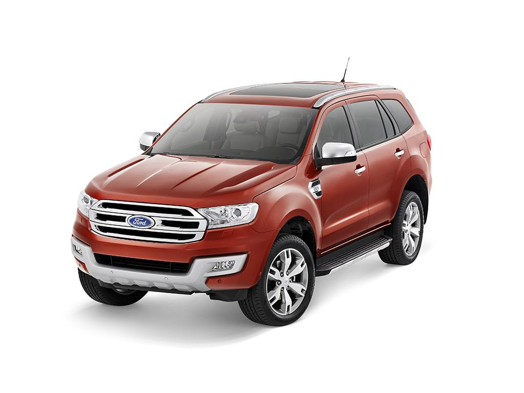 All New Ford Everest 2015