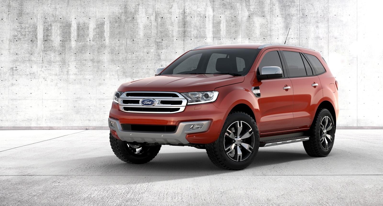 The all-new Australian-developed Ford Everest has been fully unveiled