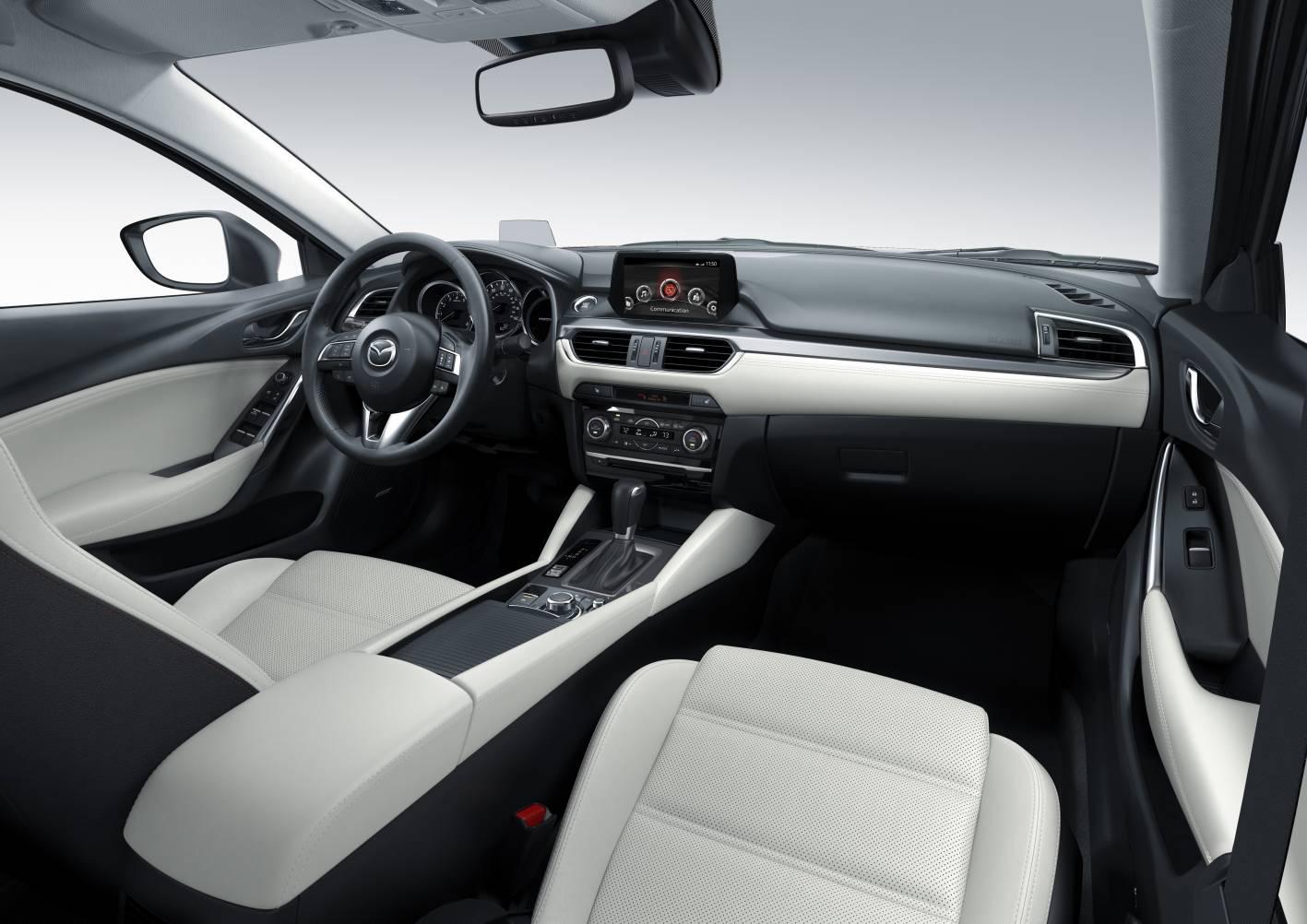 Mazda 6 Station Wagon 2017 >> 2015-mazda6-facelift-interior - ForceGT.com