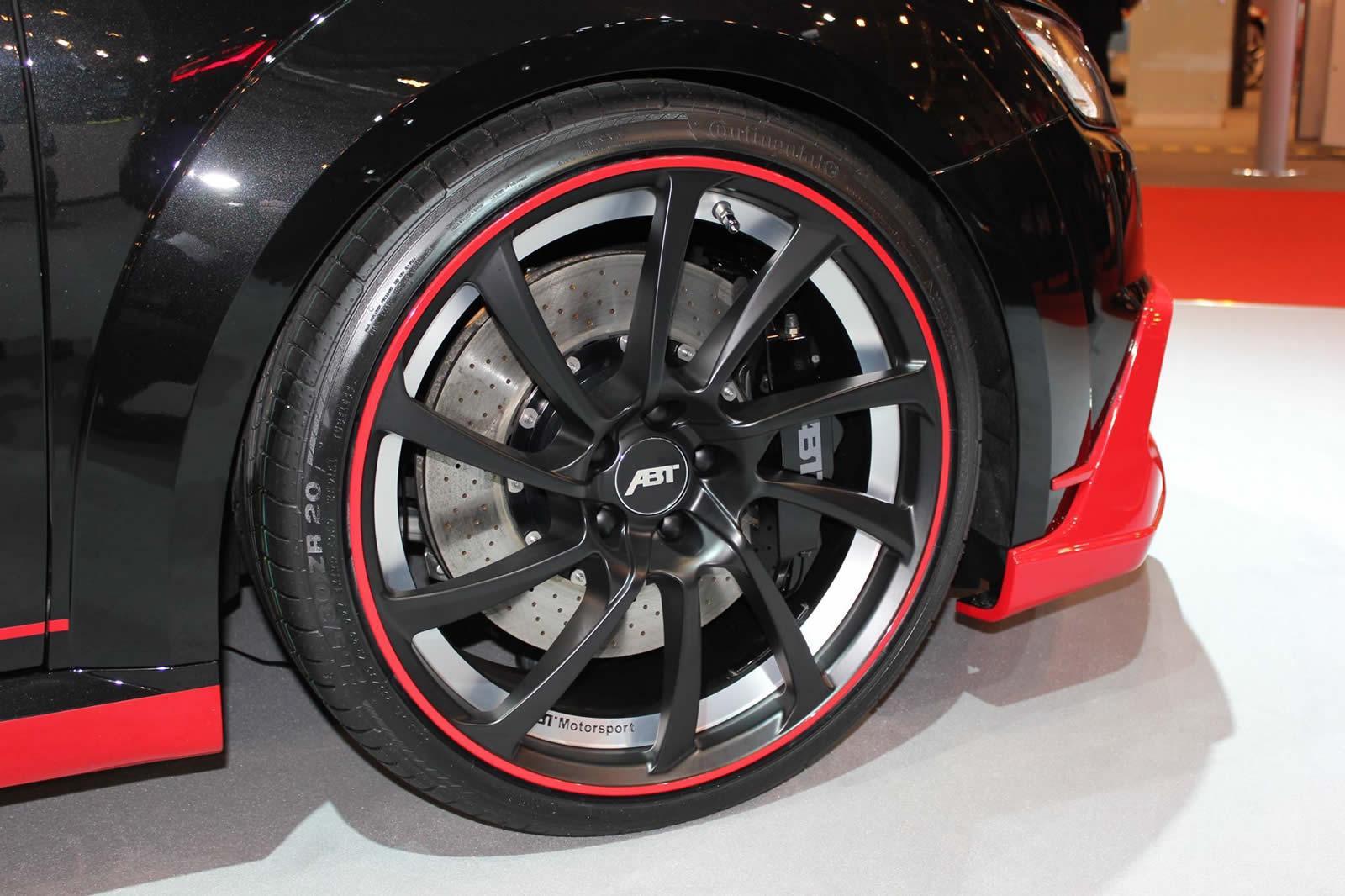 Audi Tt Coupe By Abt Sportline Inch Dr Wheels