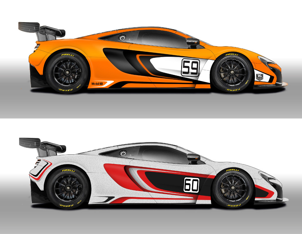 Mclaren Cars News 650s Gt3 To Race In 2014 Gulf 12 Hour