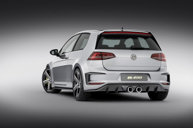 Volkswagen Golf R400 concept rear