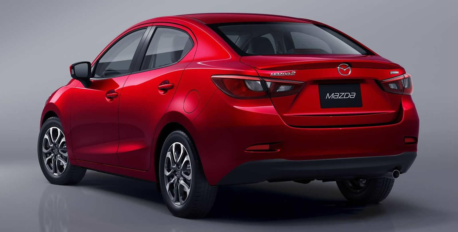 all new mazda2 sedan unwrapped. Black Bedroom Furniture Sets. Home Design Ideas