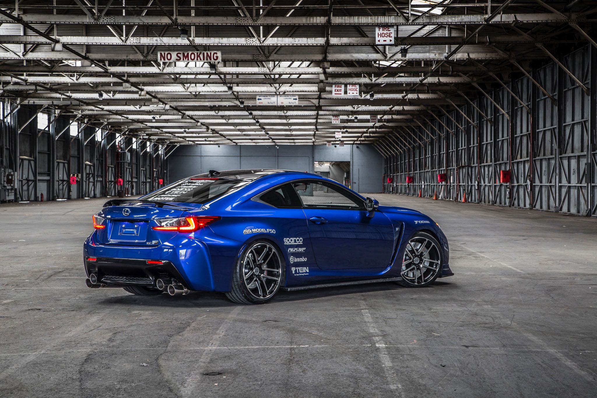 Awd Sports Cars >> Lexus Cars - News: Lexus RC F gets hotted up for SEMA