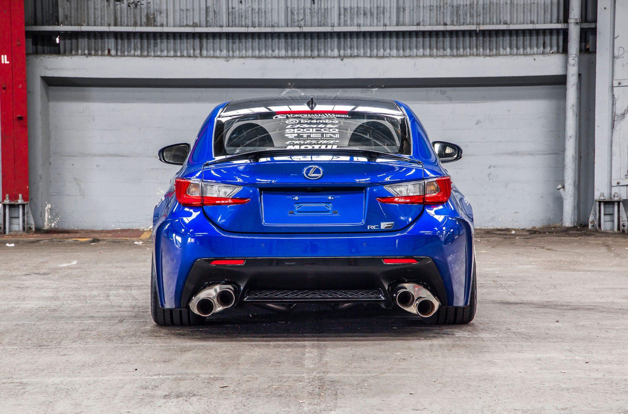 Tuned Lexus Rc F Sema Rear Forcegt Com