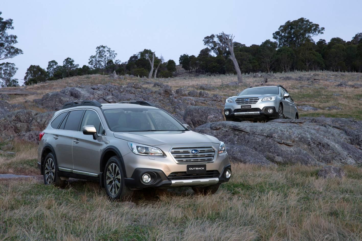 subaru cars news 2015 subaru outback on sale from 35 990. Black Bedroom Furniture Sets. Home Design Ideas