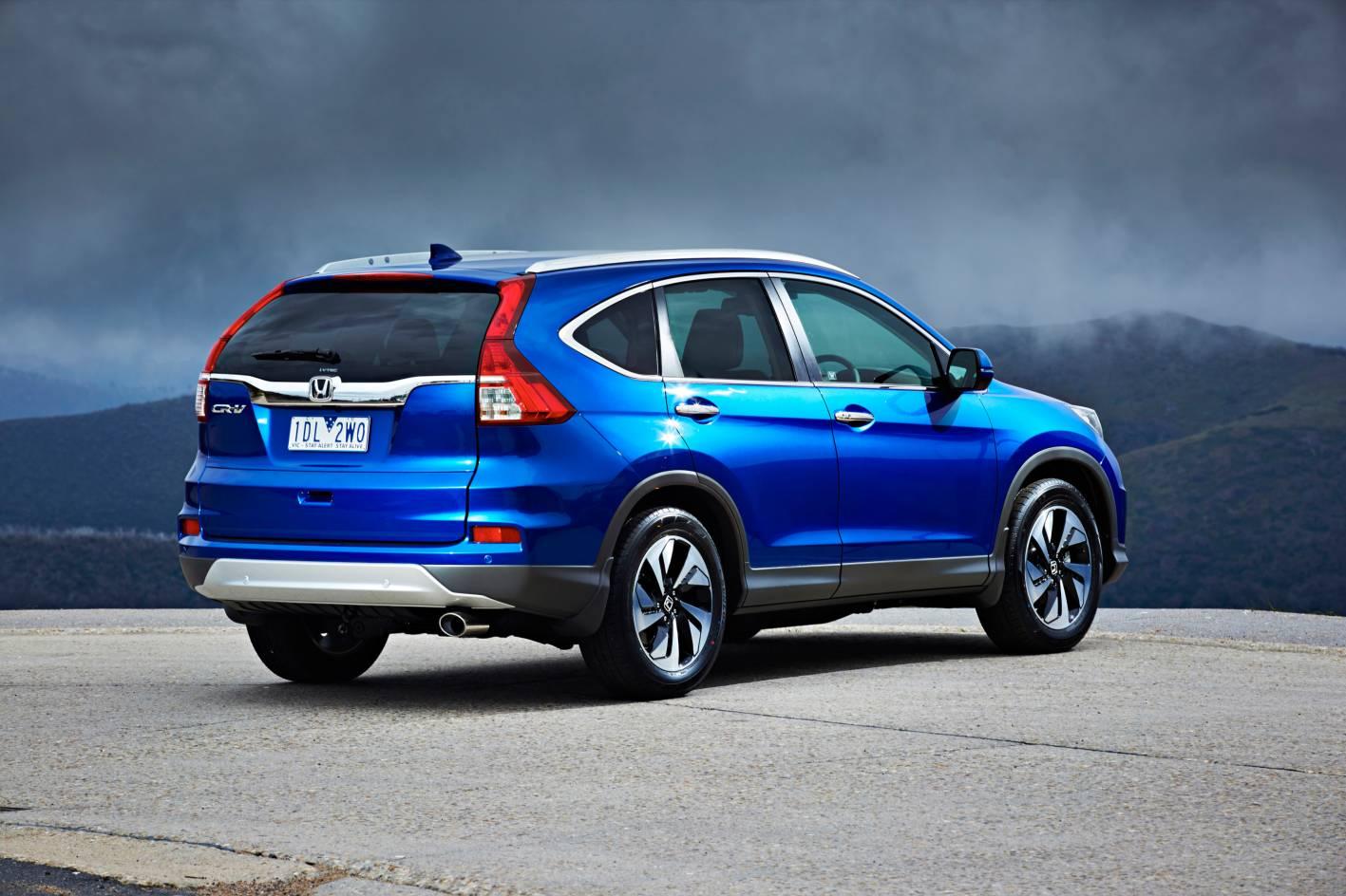 Honda Cr-v Range Refreshed For 2015