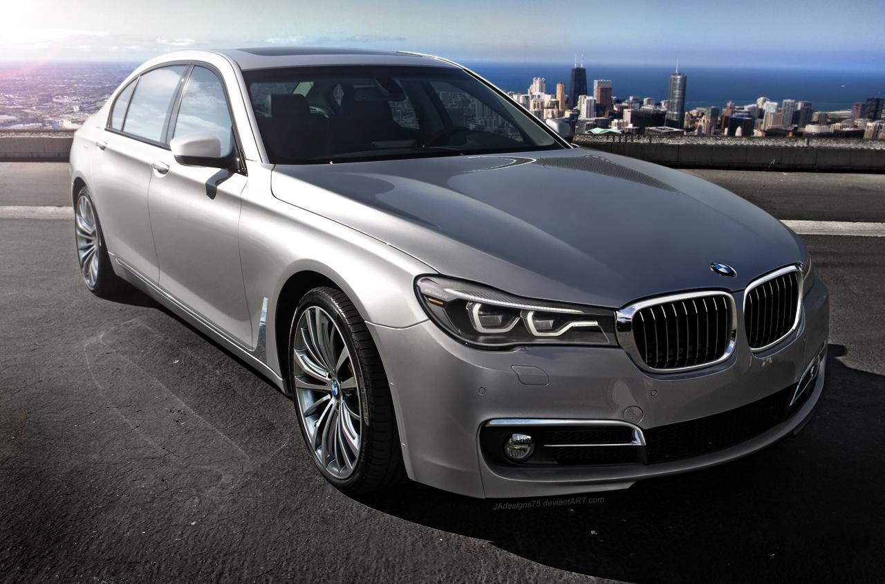 bmw cars news 2016 bmw 7 series realistically imagined. Black Bedroom Furniture Sets. Home Design Ideas