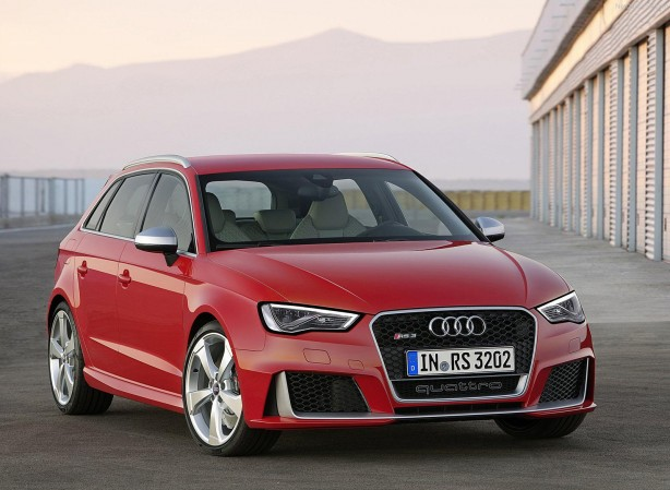 Audi RS3 Sportback front