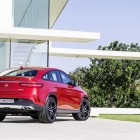 Mercedes-Benz GLE 450 AMG rear quarter