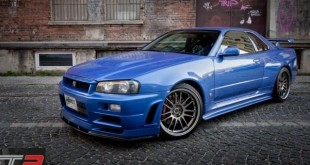 R34 Nissan Skyline from Fast and Furious 4 - main