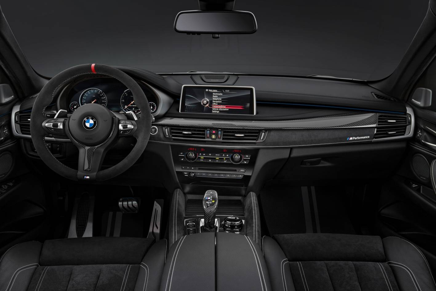 bmw x6 gains m performance parts. Black Bedroom Furniture Sets. Home Design Ideas