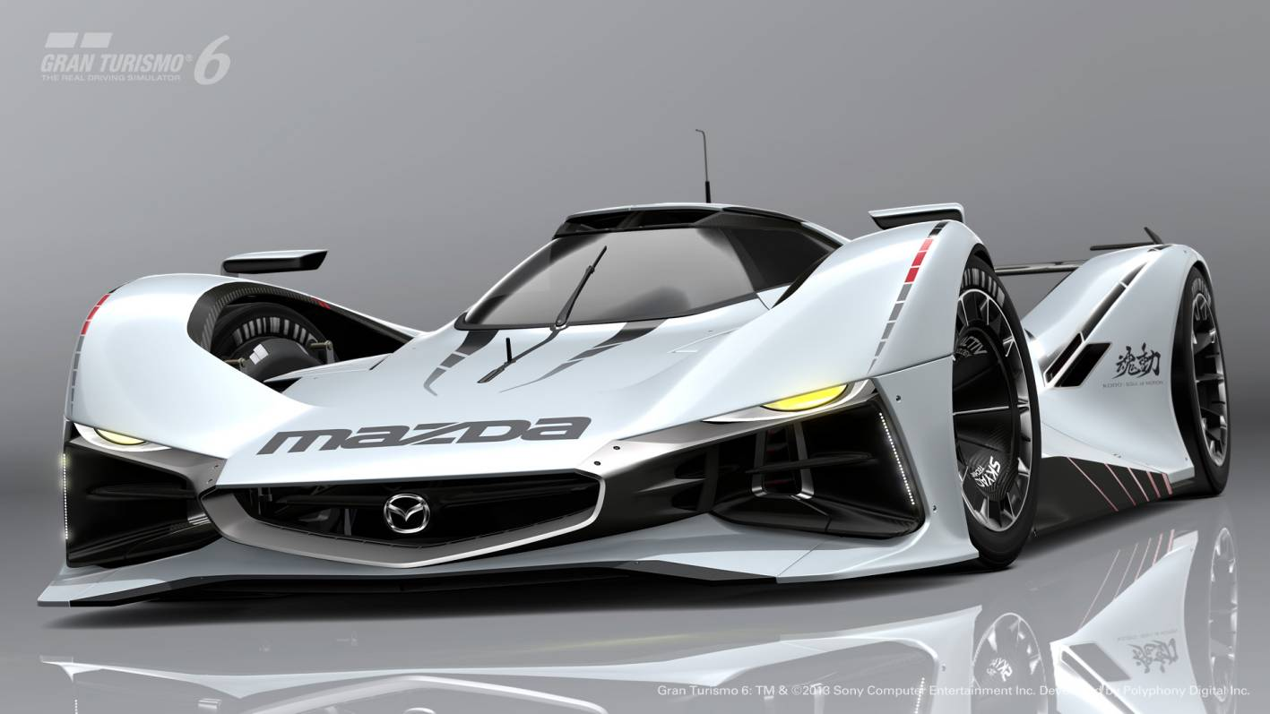 mazda unveils lm55 vision gran turismo. Black Bedroom Furniture Sets. Home Design Ideas