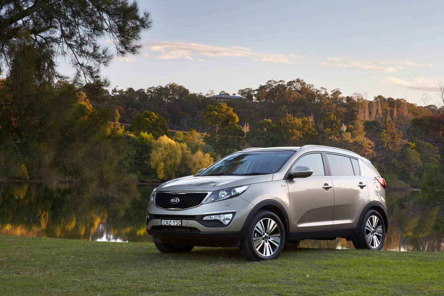 express review sportage auto kia pictures