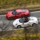 2015 Alfa Romeo 4C Spider top-1