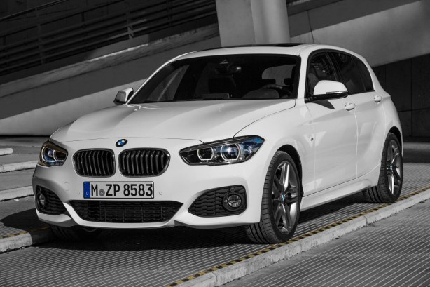 2015 BMW 1 Series front quarter