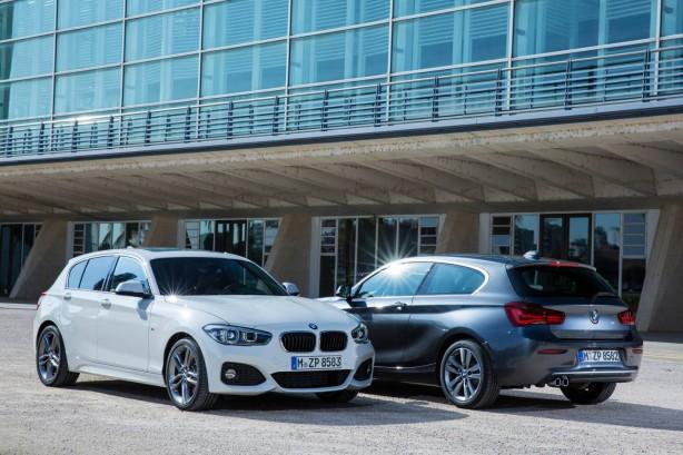 2015 BMW 1 Series range