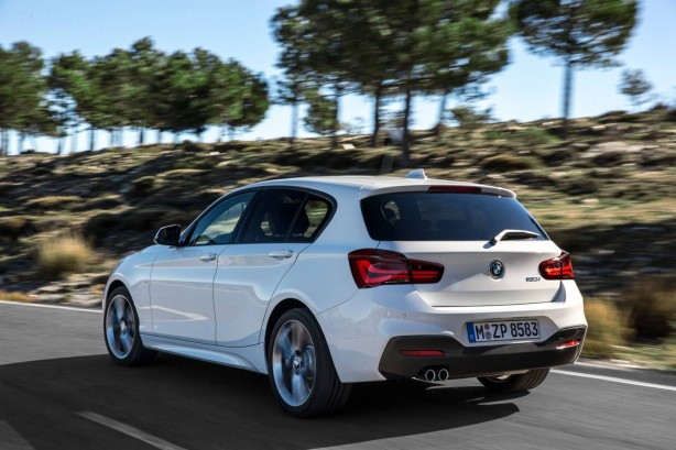 2015 BMW 1 Series rear