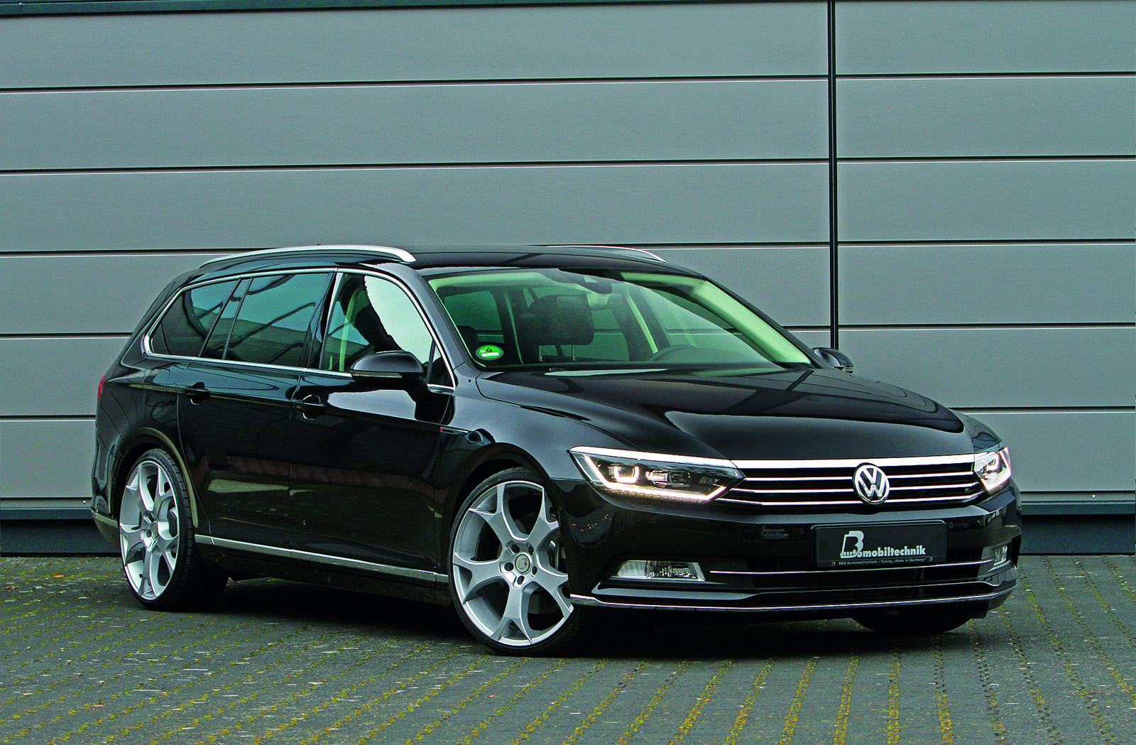volkswagen tuning 2015 passat variant tuned by b b automobiltechnik. Black Bedroom Furniture Sets. Home Design Ideas