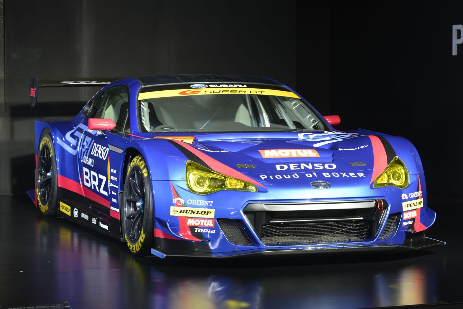subaru unwraps brz gt300 at the 2015 tokyo auto salon. Black Bedroom Furniture Sets. Home Design Ideas