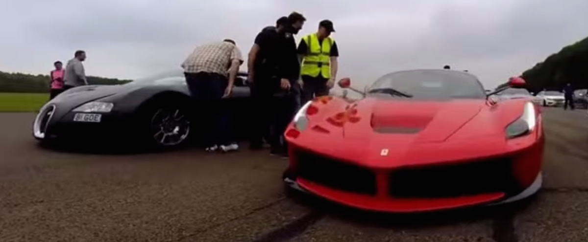Bugatti Veyron vs LaFerrari in epic drag race [video] - ForceGT.com