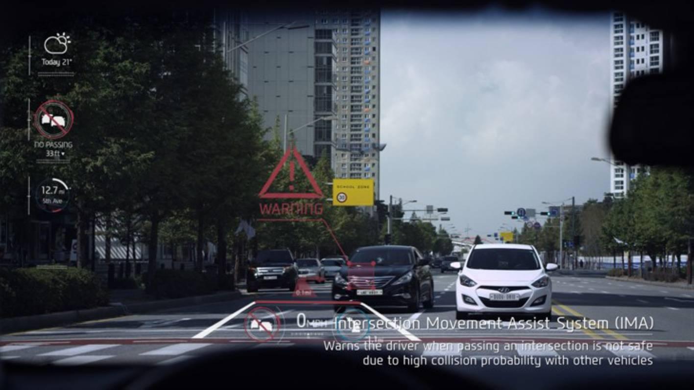 Hyundai Showcases Future In Car Technologies Forcegt Com
