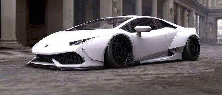 Lamborghini Tuning Wide Bodyhuracan By Liberty Walk Lb