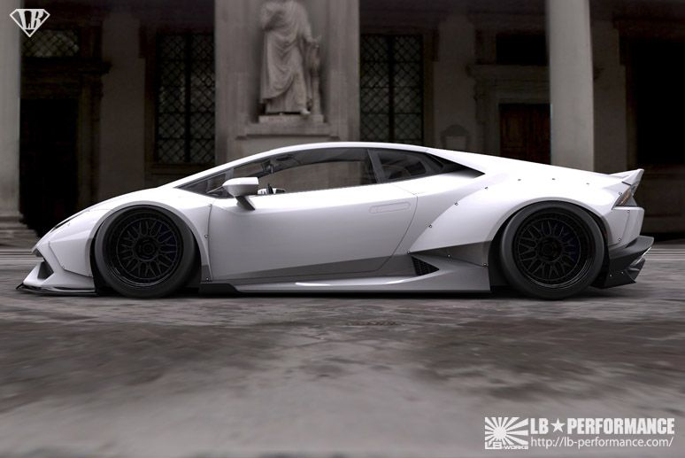 lamborghini tuning wide bodyhuracan by liberty walk lb performance. Black Bedroom Furniture Sets. Home Design Ideas