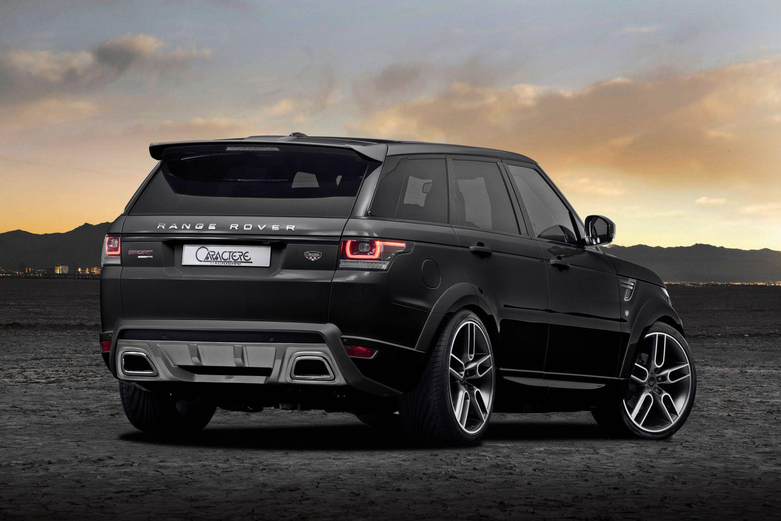 caractere exclusive tweaks range rover sport. Black Bedroom Furniture Sets. Home Design Ideas